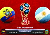 Soi kèo bóng đá Ecuador vs Argentina 06h30, ngày 11/10 Vòng Loại World Cup 2018