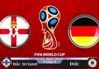 Soi kèo bóng đá Bắc Ireland vs Đức 01h45, ngày 06/10 Vòng Loại World Cup 2018