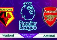 Soi kèo bóng đá Watford vs Arsenal 23h30, ngày 14/10 Ngoại Hạng Anh