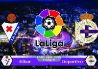 Soi kèo bóng đá Eibar vs Deportivo 17h00, ngày 15/10 La Liga