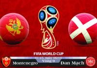 Soi kèo bóng đá Montenegro vs Đan Mạch 01h45, ngày 06/10 Vòng Loại World Cup 2018