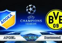 Soi kèo bóng đá APOEL vs Dortmund 01h45, ngày 18/10 Champions League