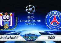 Soi kèo bóng đá Anderlecht vs PSG 01h45, ngày 19/10 Champions League