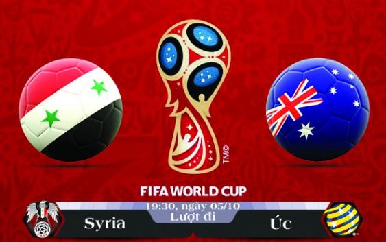 Soi kèo bóng đá Syria vs Úc 19h30, ngày 05/10 Vòng Loại World Cup 2018