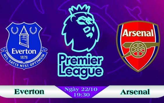 Soi kèo bóng đá Everton vs Arsenal 19h30, ngày 22/10 Ngoại Hạng Anh