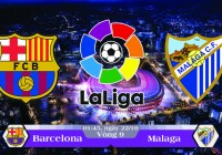 Soi kèo bóng đá Barcelona vs Malaga 01h45, ngày 22/10 La Liga