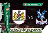 Soi kèo bóng đá Bristol City vs Crystal Palace 01h45, ngày 25/10 Cúp Liên Đoàn Anh