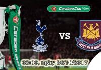 Soi kèo bóng đá Tottenham vs West Ham 02h00, ngày 26/10 Cúp Liên Đoàn Anh