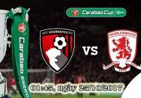 Soi kèo bóng đá Bournemouth vs Middlesbrough 01h45, ngày 25/10 Cúp Liên Đoàn Anh