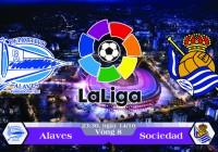 Soi kèo bóng đá Alaves vs Real Sociedad 23h30, ngày 14/10 La Liga