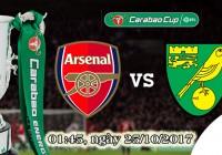 Soi kèo bóng đá Arsenal vs Norwich 01h45, ngày 25/10 Cúp Liên Đoàn Anh