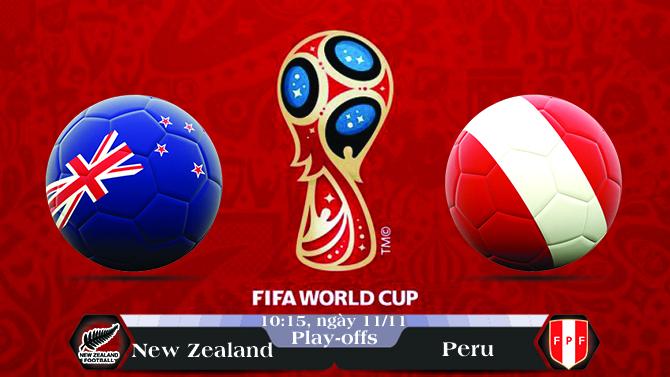 Soi kèo bóng đá New Zealand vs Peru 10h15, ngày 11/11 Vòng Loại World Cup 2018