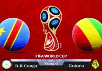 Soi kèo bóng đá CHDC Congo vs Guinea 00h30, ngày 12/11 Vòng Loại World Cup 2018