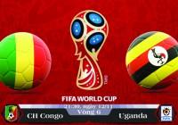 Soi kèo bóng đá CH Congo vs Uganda 21h30, ngày 12/11 Vòng Loại World Cup 2018