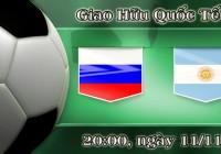 Soi kèo bóng đá Nga vs Argentina 20h00, ngày 11/11 Giao Hữu Quốc Tế