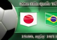 Soi kèo bóng đá Nhật Bản vs Brazil 19h00, ngày 10/11 Giao Hữu Quốc Tế