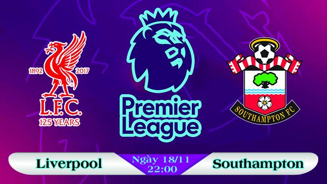 Soi kèo bóng đá Liverpool vs Southampton 22h00, ngày 18/11 Ngoại Hạng Anh