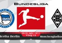 Soi kèo bóng đá Hertha Berlin vs Monchengladbach 00h30, ngày 19/11 Bundesliga