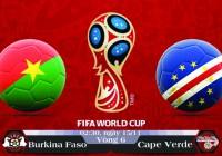 Soi kèo bóng đá Burkina Faso vs Cape Verde 02h30, ngày 15/11 Vòng Loại World Cup 2018