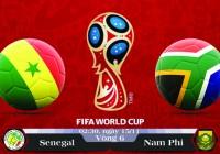 Soi kèo bóng đá Senegal vs Nam Phi 02h30, ngày 15/11 Vòng Loại World Cup 2018