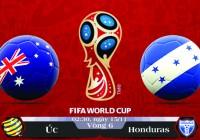 Soi kèo bóng đá Úc vs Honduras 16h00, ngày 15/11 Vòng Loại World Cup 2018