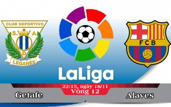 Soi kèo bóng đá Leganes vs Barcelona 22h15, ngày 18/11 La Liga