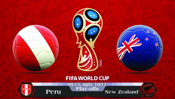 Soi kèo bóng đá Peru vs New Zealand 09h15, ngày 16/11 Vòng Loại World Cup 2018