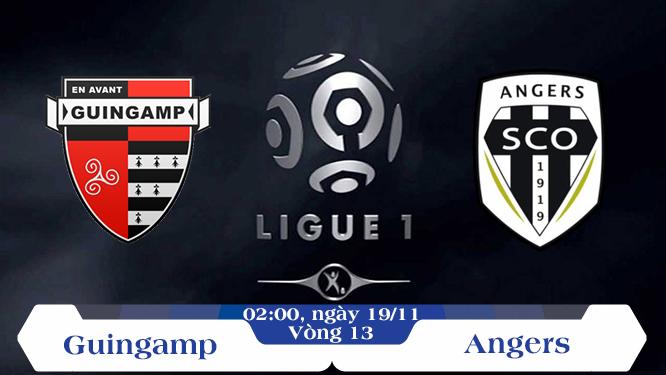 Soi kèo bóng đá Guingamp vs Angers 02h00, ngày 19/11 Giải Vô Địch Quốc Gia Pháp