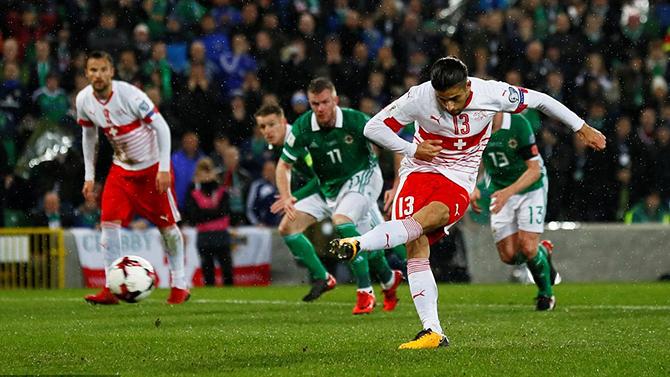 Nhận định, soi kèo Thụy Sĩ vs Bắc Ireland