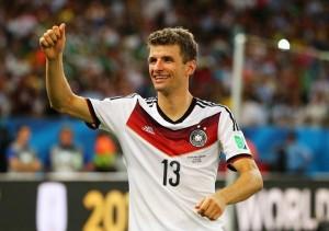 Đội tuyển Đức tham dự Euro 2016 có Thomas Mueller làm điểm tựa