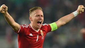 Đội tuyển Hungary tham dự Euro 2016 có đội trưởng là Balazs Dzsudzsak