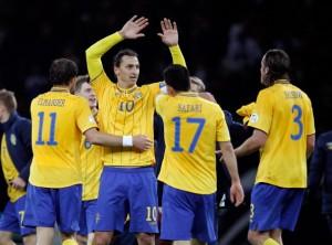 Đội tuyển Thụy Điển tham dự Euro 2016 nhờ loạt trận play-off