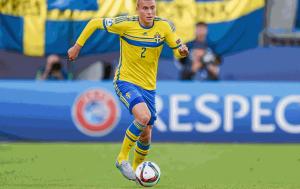 Victor Lindelof là ngôi sao triển vọng của đội tuyển Thụy Điển tại Euro 2016