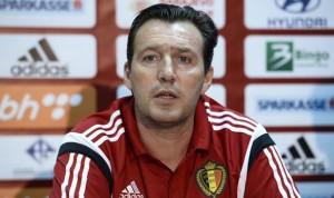 Marc Wilmots là HLV trưởng của đội tuyển Bỉ tham dự Euro 2016