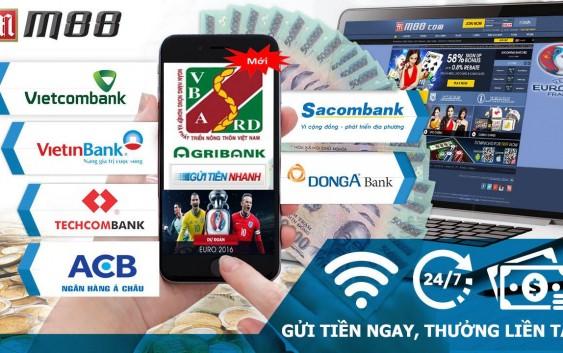 Hướng dẫn gửi tiền vào tài khoản M88 bằng ví điện tử Ngân Lượng
