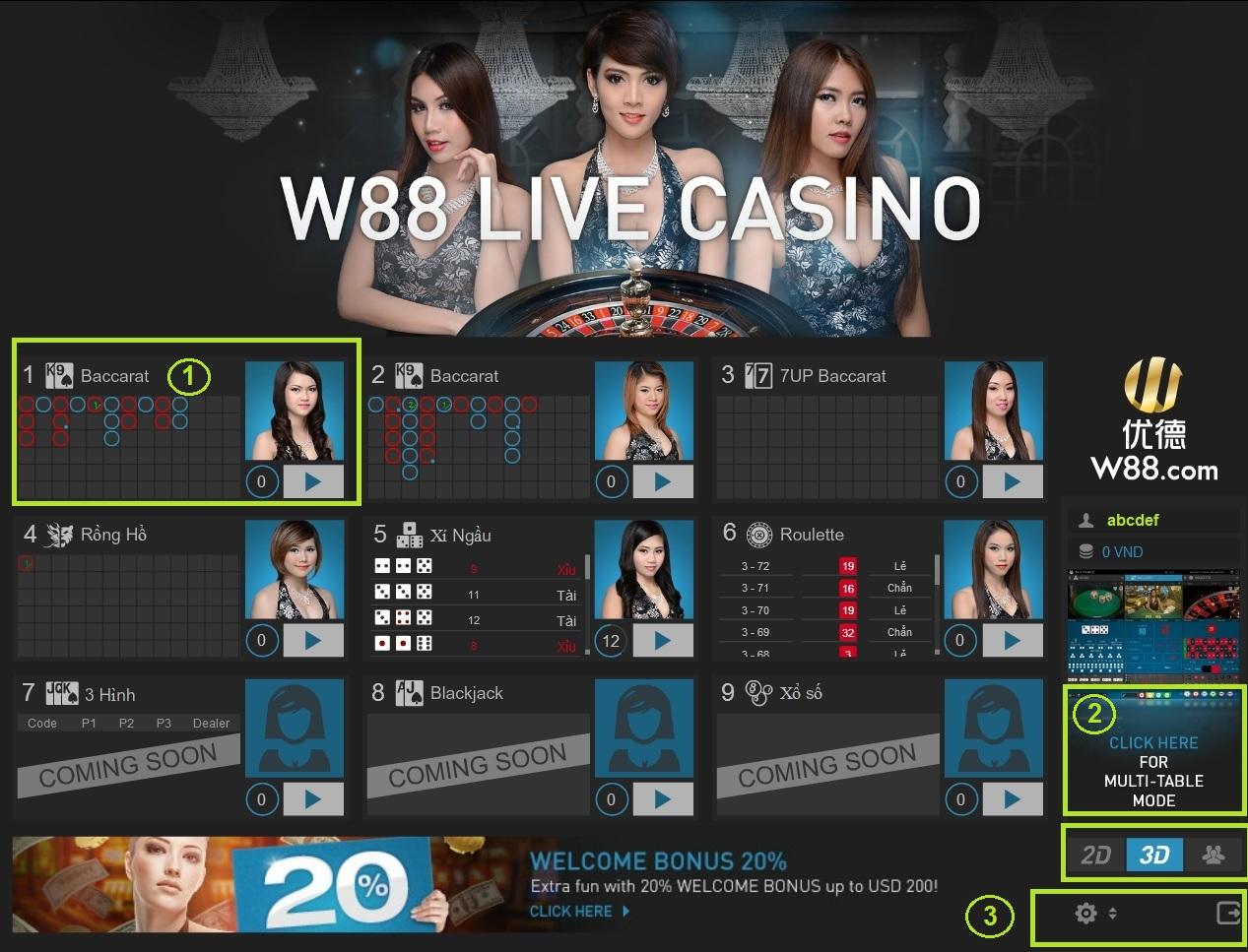 Có nhiều trò chơi đánh bài online tại nhà cái W88