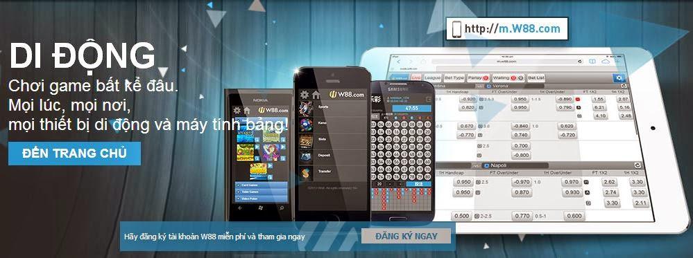 ứng dụng W88 di động