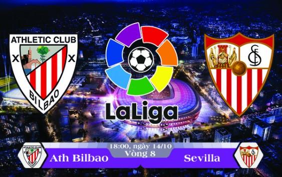 Soi kèo bóng đá Ath Bilbao vs Sevilla 18h00, ngày 14/10 La Liga