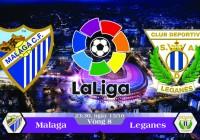 Soi kèo bóng đá Malaga vs Leganes 23h30, ngày 15/10 La Liga