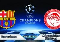 Soi kèo bóng đá Barcelona vs Olympiakos Piraeus 01h45, ngày 19/10 Champions League