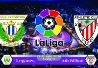 Soi kèo bóng đá Leganes vs Ath Bilbao 23h30, ngày 22/10 La Liga