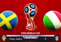 Soi kèo bóng đá Thụy Điển vs Ý 02h45, ngày 11/11 Vòng Loại World Cup 2018