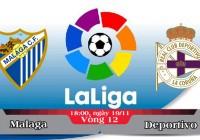 Soi kèo bóng đá Malaga vs Deportivo 18h00, ngày 19/11 La Liga
