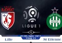 Soi kèo bóng đá Lille vs St Etienne 01h00, ngày 18/11 Giải Vô Địch Quốc Gia Pháp
