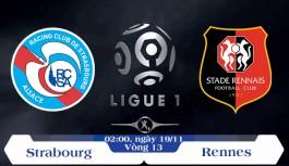Soi kèo bóng đá Strasbourg vs Rennes 02h00, ngày 19/11 Giải Vô Địch Quốc Gia Pháp