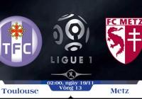Soi kèo bóng đá Toulouse vs Metz 02h00, ngày 19/11 Giải Vô Địch Quốc Gia Pháp